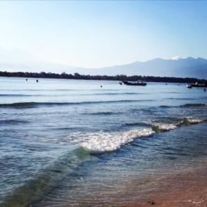 Beach Gili Island